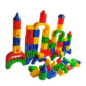 Bloques Construccion Niños Juegos Educativos Niños Juguetes Educativos Creativo Regalo Niños Infantiles Niñas 3 4 5 Años, 84 Piezas