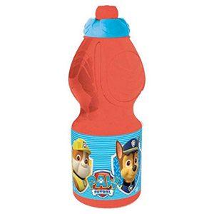 Paw Patrol – Botella Para Niño, Color Rojo