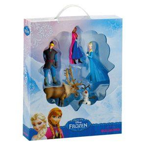 Frozen – Bumper Pack, Set Con 5 Figuras, Bullyland 12220