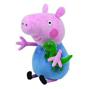 Ty Peppa Pig George – Peluche, Peppa Le Cochon, Peppa Large, 28 Cm