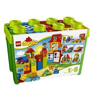LEGO DUPLO – Caja Divertida Deluxe, Multicolor (10580) , Modelos/colores Surtidos, 1 Unidad