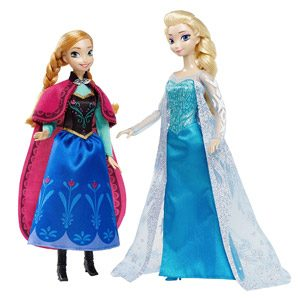 Disney Frozen – Muñeca Anna Y Kristoff (Mattel CMT82)