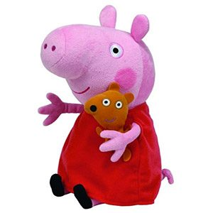 Peppa Pig – Peluche, 25 Cm, Color Rosa (TY 96230TY)