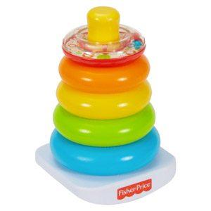 Fisher-Price – Pirámide Balanceante, Juguetes Bebe 6 Meses (Mattel N8248)