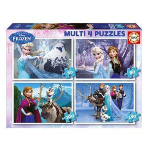 Educa- Frozen Conjunto De Puzzles, Multicolor (16173)