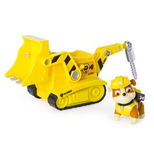 Spin Master Diggin Bulldozer Vehículo De La Pata De La Patrulla Escombros