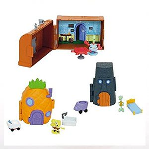 Spongebob Squarepants 3 Mini Playsets