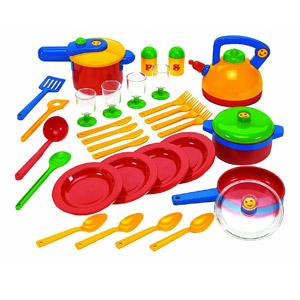 Theo Klein-9194 Emma's Kitchen Set De Ollas Grande, Juguete,, Miscelanea (Klein/Emmas 9194