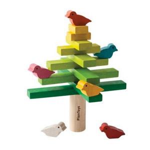 Plan Toys – Árbol Equilibrista, Juego De Bloques (5140)