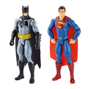 Batman Vs Superman Figures 12 Inch, Pack Of 2 (Mattel DLN32)