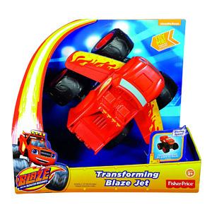 Blaze Y Los Monster Machines – Turbo Transformación Fisher-Price (Mattel DTB72)