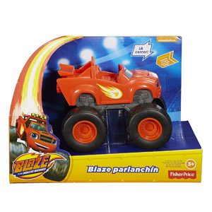 Blaze Y Los Monster Machines – Fisher-Price Blaze Parlanchín (Mattel DXB68)