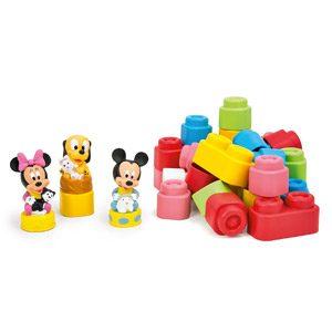 Clementoni 14831.8 Disney – Juego De Construcción Con Bolsa, Diseño De Mickey Y Minnie (32 Piezas)