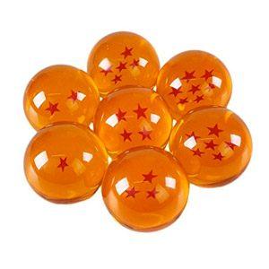 Katara 1737 – Dragon Ball Z Con Caja – Juego De 7 Bolas De Dragón Son Goku Con Estrellas Correspondientes – Cosplay