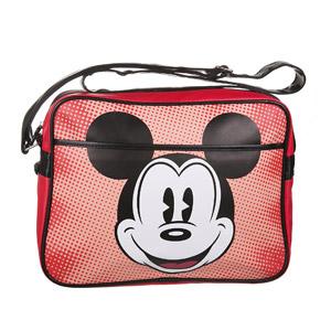 Vintage Retro Mickey Mouse Red Bag Shoulder School Pop Art Sport Disney Official