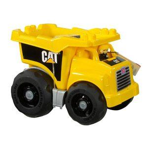 MEGA Bloks – Cat Super Camión Volquete (Mattel DCJ86)