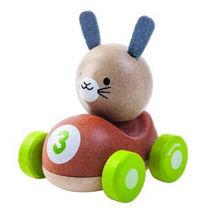 PlanToys PlanToys-5680 Conejo El Piloto, (5680)