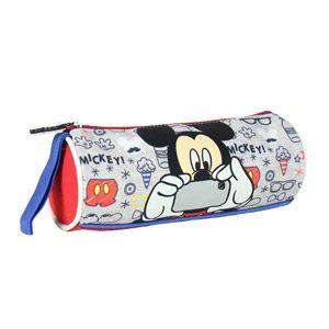 Mickey – Portatodo Cilíndrico, Color Azul (Cerdá 2100000565)