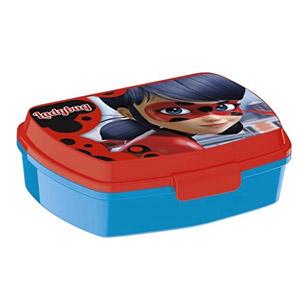 Fiambrera Miraculous Ladybug Marinette Lunch Box Niños Comida Plástico