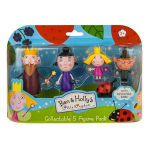 Ben And Holly – Figura De Acción Ben Y Holly (Character Options 5279) Modelos Surtidos