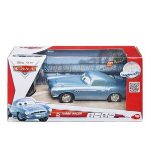 Dickie-Spielzeug 203089503 Disney Cars 2 – Coche Por Control Remoto Diseño Finn McMissile De 18 Cm [Importado De Alemania]