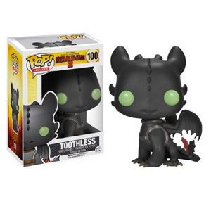 FUNKO Pop! Movies: How To Train Your Dragon – Toothless Collectible Figure Pop! Movies: How To Train Your Dragon – Figuras De Acción Y De Colección (Collectible Figure, Dibujos Animados, Pop! Movies: How To Train Your Dragon, Multicolor, Vinilo, Caja)