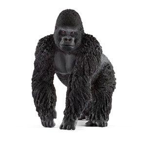 Schleich- Figura De Gorila Macho, Color Negro, 9,4cm