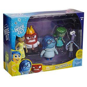 Takara Tomy – Figuras De Los Personajes De La Película De Disney Pixar Inside Out: Alegría, Tristeza, Miedo, Ira Y Asco, 5 Unidades, DS61109