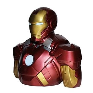 Distribución Semic – Bbsm002 – Hucha – Banco Marvel Deluxe Busto – Iron Man Mark VII – Hucha Iron Man 22 Cm