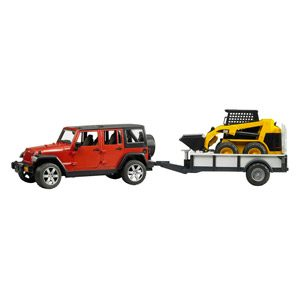Jeep Wrangler – Unlimited Rubicon, Vehículo Con Miniexcavadora (Bruder 2925)
