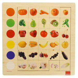 Goula – Observación Colores, Juego Educativo De 30 Piezas (Diset 55134) , Color/modelo Surtido