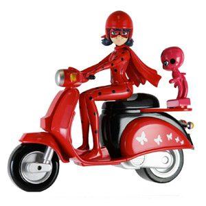 Prodigiosa: Las Aventuras De Ladybug – Moto (Bandai 39880)