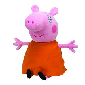 Peppa Pig – Peluche Mummy Pig, 22 Cm, Color Naranja (TY 96232TY)