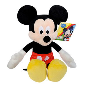 IMC Toys Disney – Peluche Happy Sounds Mickey, 12 X 20,5 X 34,5 Cm (181106MM)