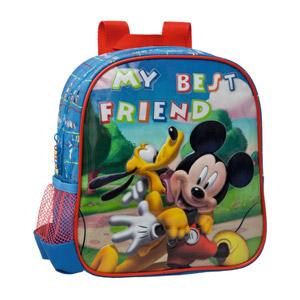 Disney Mochila Infantil Mickey Y Pluto, 25 Cm, Azul
