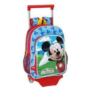 Mickey Mouse – Mochila Infantil Con Ruedas (Safta 611539020)
