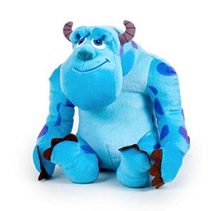 Peluche Sulley Monsters Inc T1 20cm Monstruo Azul