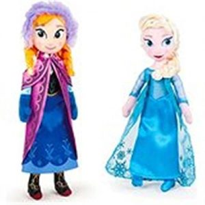 Disney Pack DE 2 Peluches Frozen – Elsa + Anna