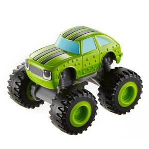 Blaze Y Los Monster Machines De Nickelodeon – Vehículo Pickle, Color Verde(Mattel CGF23)