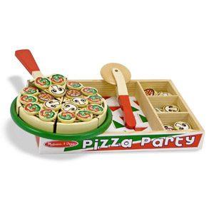 Melissa & Doug – Pizza De Madera (10167)