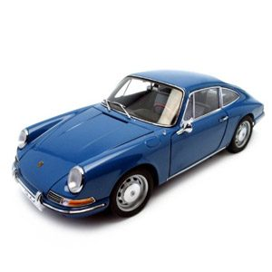 1964 Porsche 911 Coupe Blue 1:18 AutoArt Diecast Model (japan Import)