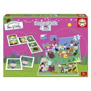Juegos Educativos Educa – Ben Y Holly Superpack De Juegos (15942)