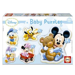 Educa Borrás – Puzzle Baby De Mickey Mouse (13813)
