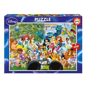 Educa – El Maravilloso Mundo De Disney II Puzzle, 1 000 Piezas, Multicolor (16297)