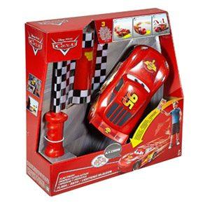 Cars 2- Cars The Movie Rayo Mcqueen Carreras Y Derrapes, Color Rojo/Negro, (Mattel DPL07)