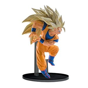 Banpresto Dragon Ball Super Saiyan 3 Goku Esculturas Big Budoukai 6 Volumen 6 Figura, 5,1″