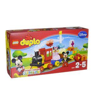 LEGO-El Desfile De Cumpleaños De Mickey Y Minnie Disney TM Mouse Juego De Construcción, Multicolor, 35.1 X 19.1 X 9.7…