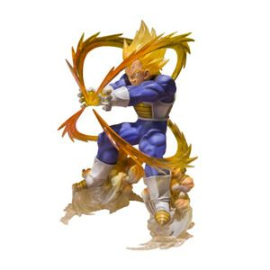 Bandai 31646 – Figura Dragon Ball Z Bola De Dragón (31646) – Figura Dragon Ball Vegeta Super Saiyan (13 Cm)