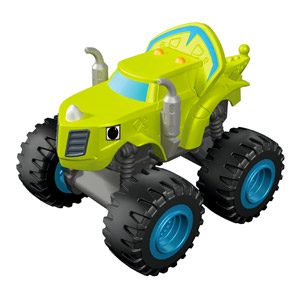 Blaze Y Los Monster Machines De Nickelodeon – Coche Zeg (Mattel CGH57) , Color/modelo Surtido