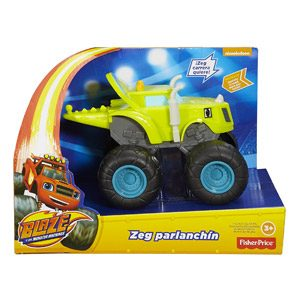 Blaze Y Los Monster Machines – Fisher-Price Zeg Zeg Parlanchín (Mattel DXB78)